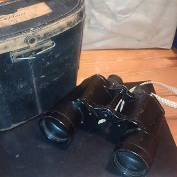 Vintage Carl Zeiss Jena 7x50 Binoculars Captain Emerson - Military and Wartime