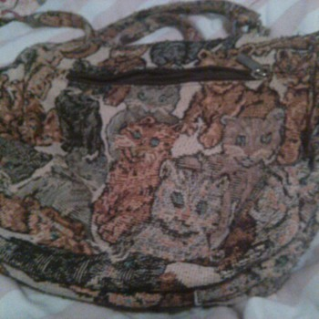 My cat purse