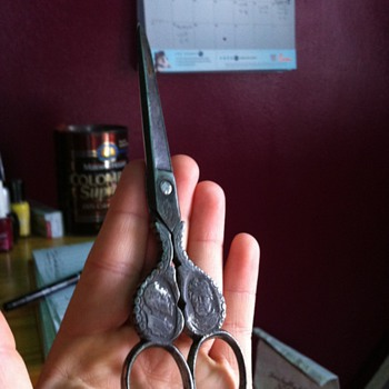 Antique German Scissors - Sewing