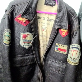 my unknown g-1 jacket - Military and Wartime