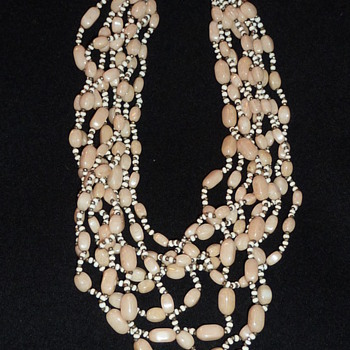 Beaded Mirium Haskell necklace - Costume Jewelry