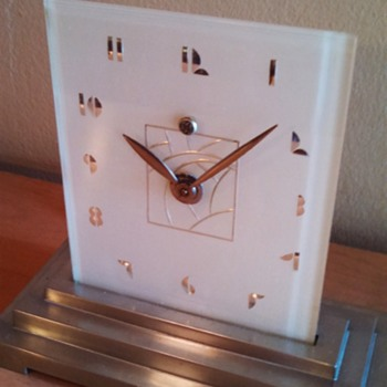 "Art Deco General Electric ""Breton"" Clock"