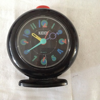 1980's-90's Belgian Kiddy alarm clock. - Clocks