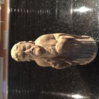 Stone Jesus Figure