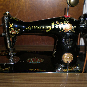 The Lion Crown Sewing Machine Co.  - Sewing
