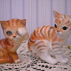 GOEBEL CAT &amp; RUSSIAN CAT FIGURINES