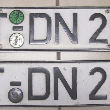 Mystery License Plates??? - Classic Cars