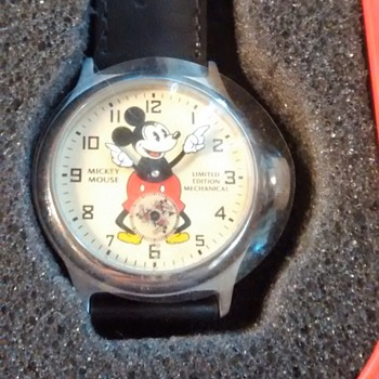 Limited Edition Repoduction Mickey Mouse Wristwatch - Wristwatches