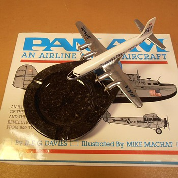 Vintage PAN AM Ashtray Circa 1950 - Tobacciana