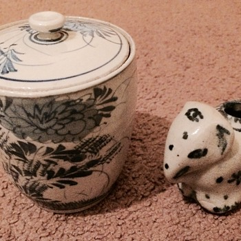 Chinese? Japanese? Porcelain Ceramics