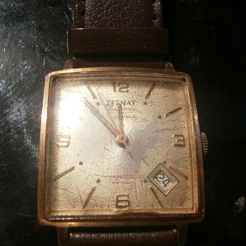 vintage frech wrist watch.