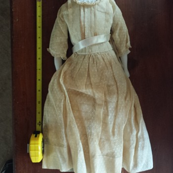 """18"""" China Doll from Grandma's Trunk"""