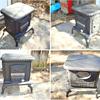 vintage wood stove