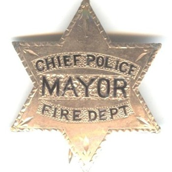 A Very Unusual Badge - Firefighting