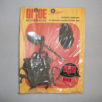 1960's G.I. Joe Equipment Set (Action Marine) - Toys