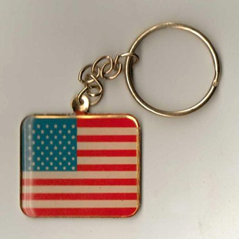 U.S. Flag / V.F.W. Keyfob & Ring