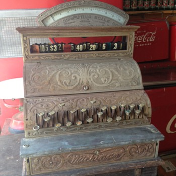 Michigan No. 1 Cash Register