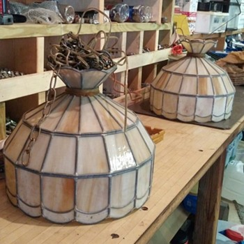 will look good over my pool table. - Lamps