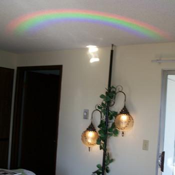 Grandma Kay's Tenson Pole Lamp - Lamps
