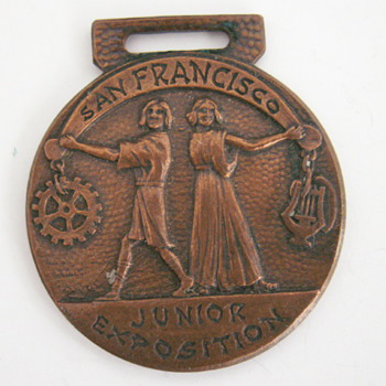 Junior Exposition Watch Fob