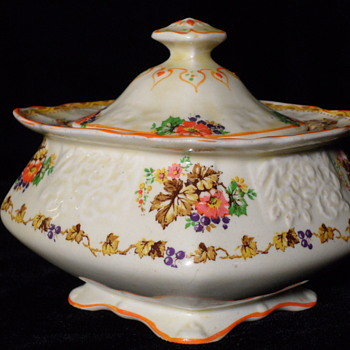Myott Cream & Sugar ~ Staffordshire England - China and Dinnerware