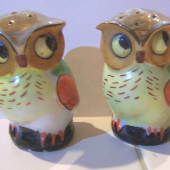 Luster owl salt and peppers #2 - Kitchen