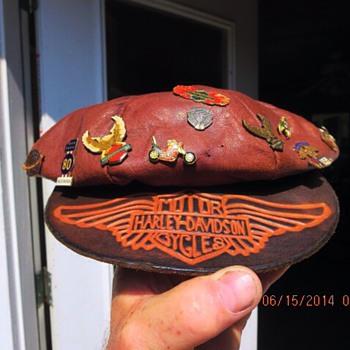 1950's Biker Hat