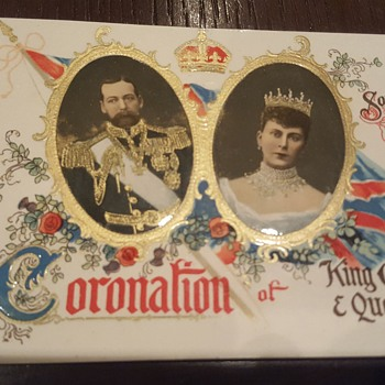Coronation King George V and Queen Mary  - Postcards