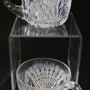 American Brilliant Cut Glass Punch Cups - Glassware