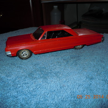 A couple of pre 70's models i have been working on a 57' Chevy and a 65 chrysler 300 super stock rebuild. - Model Cars