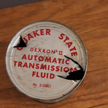 Quaker State Oil Can - Petroliana