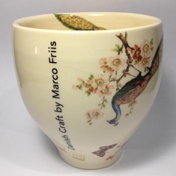 Ceramics: Marco Friis