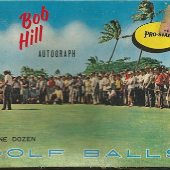 The Bob Hill Autograph by Pro-Star of Japan circa 1960 - Outdoor Sports