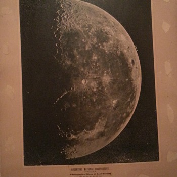B A Gould Moon Photos