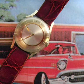 1957 Lord Elgin Futur, Mystery Dial - Wristwatches