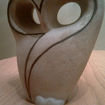Mid Century Modern Owl Figure