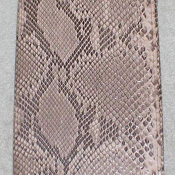 Snakeskin Book Cover - Books