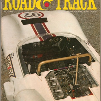 1966 - Road & Track Magazine - Paper