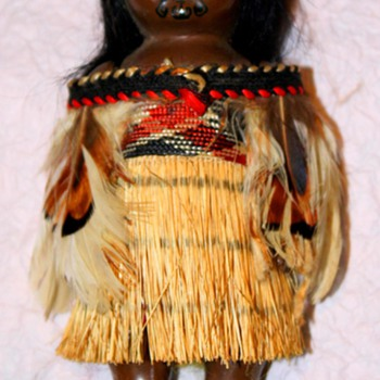 Maroi Doll with Tribal Facial Tattoo