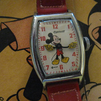 1947 Mickey Mouse Wristwatch - Wristwatches