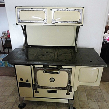 Antique Monarch Cookstove - Kitchen