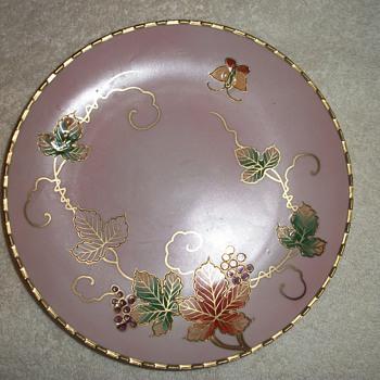gold plate - China and Dinnerware
