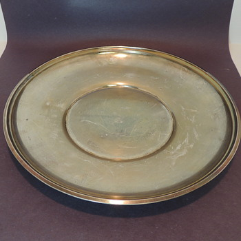 "GORHAM STERLING - 9"" Dinner Plate"