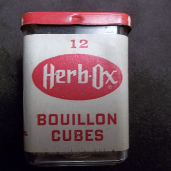 Herb Ox Bouillion Cube Container - Advertising