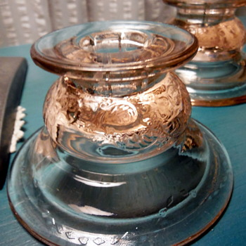 Show & Tell : My Beautiful Recollection Madrid Candlestick Holders.