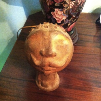 clay head.