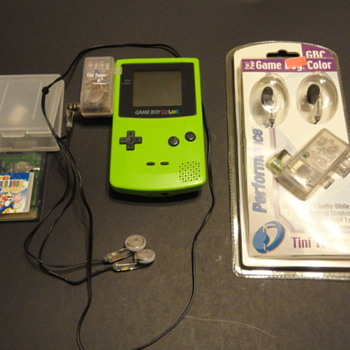 Game Boy / Game Boy Color / Advance / FM Radio Adapter