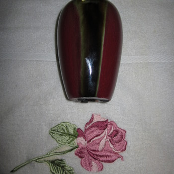 Flambe Glaze Vase Red Oxblood 18 Century ?????