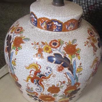 Asian ceramic lamp  - Asian