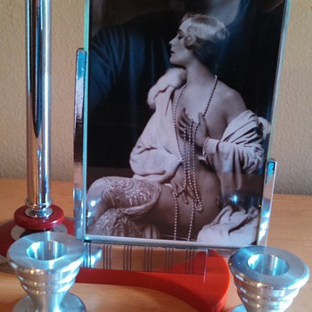 Art Deco Photo Arrangement with Dura Frame